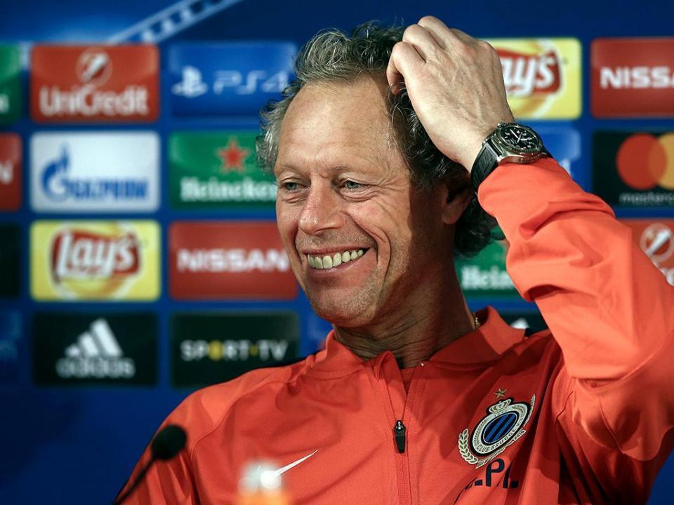 Michel Preud'homme treinador e vice-presidente do Standard de Liège
