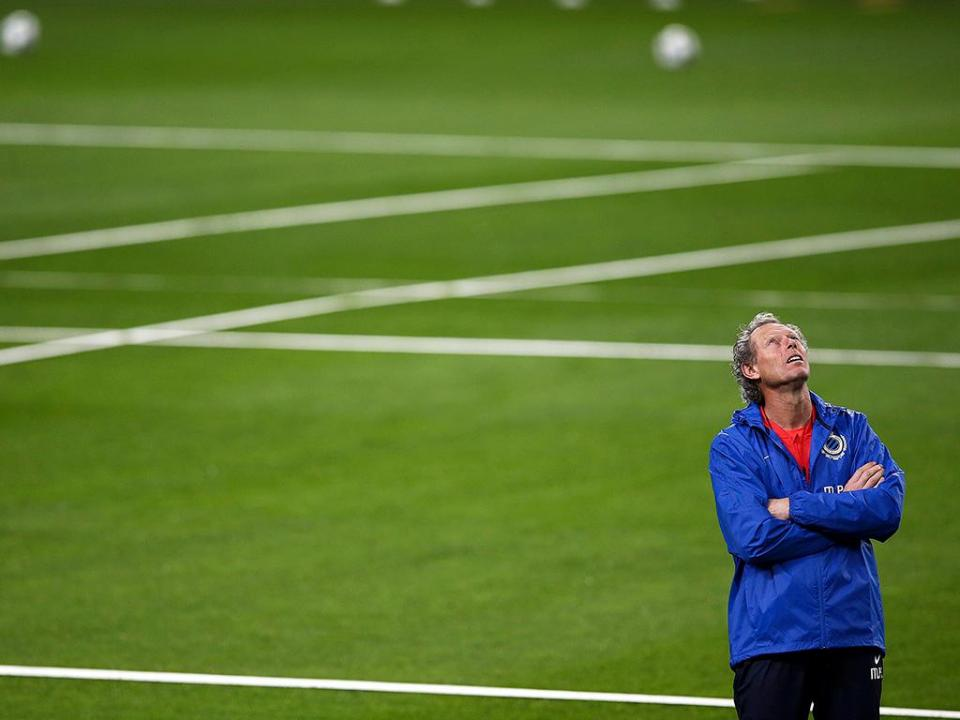 Michel Preud'homme abandona comando técnico do Club Brugge