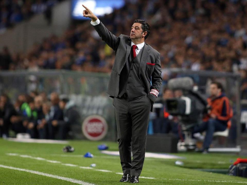 Rui Vitória: «Tivemos uma reação muito boa»