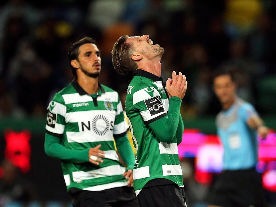 Sporting: Patrício e Ruben Semedo recuperados, Adrien em tratamento
