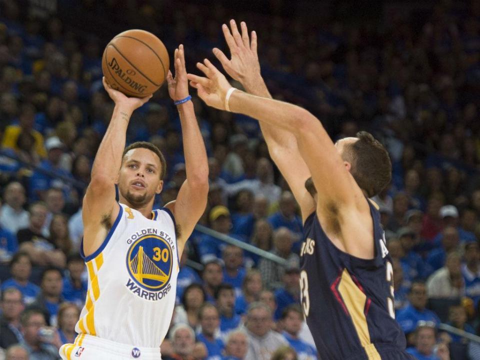 NBA: Curry decisivo em jogo da NBA com recorde de triplos