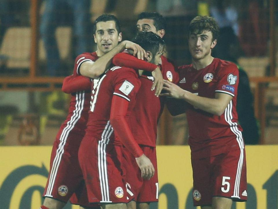 Empate no Arménia-Malta com Ghazaryan a titular