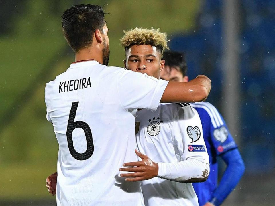 Mundial 2018: hat-trick do estreante Gnabry nos 0-8 da Alemanha