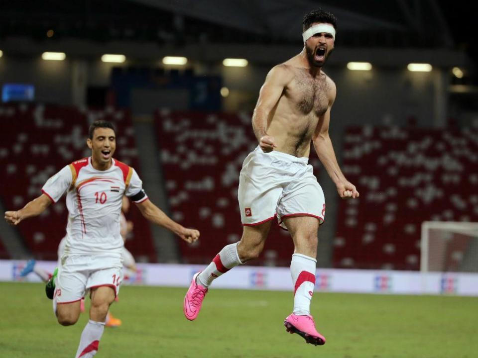 Síria  o futebol resiste 0d13ca57fc53c