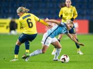Futebol feminino: Brondby-Manchester City (Lusa)