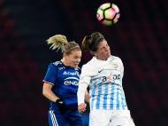Futebol Feminino: Zurich-Lyon (Lusa)