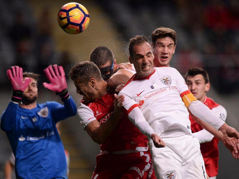 TP: Sp. Braga-Santa Clara, 2-1 (crónica)