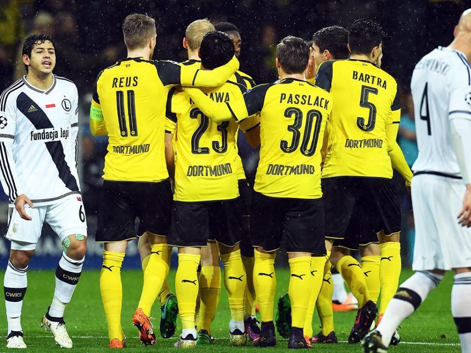 Resultado de imagem para Borussia Dortmund vence e amplia crise no Monaco