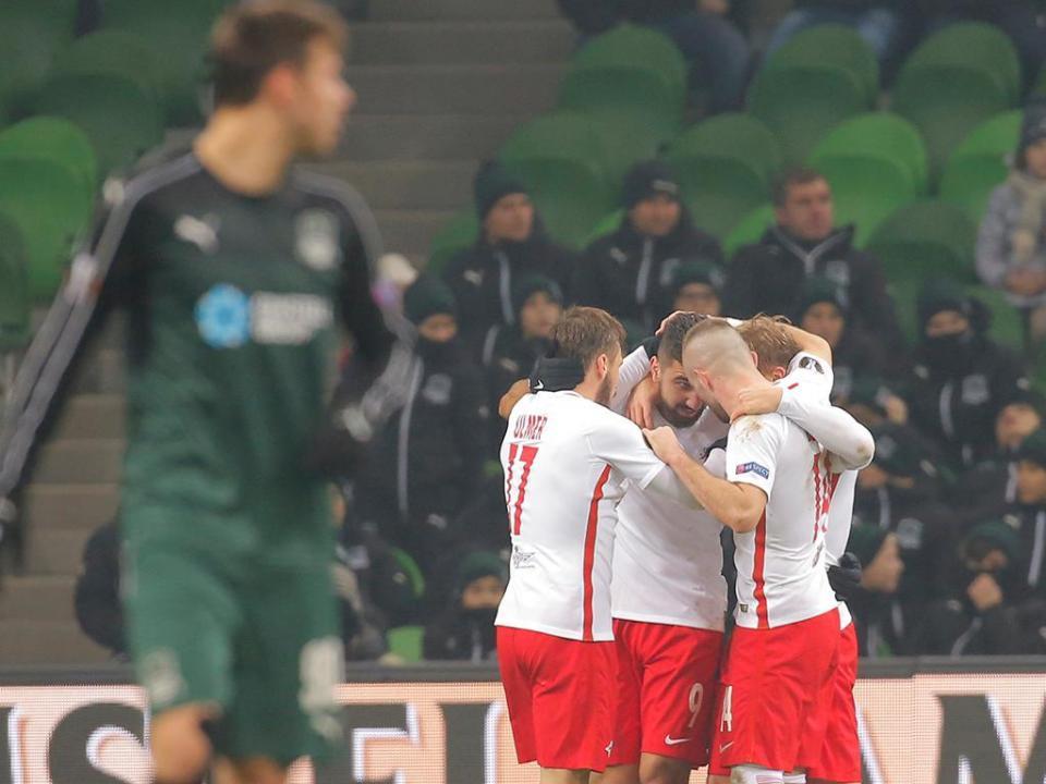 Atenção, V. Guimarães: Salzburgo goleia e destrona líder da liga