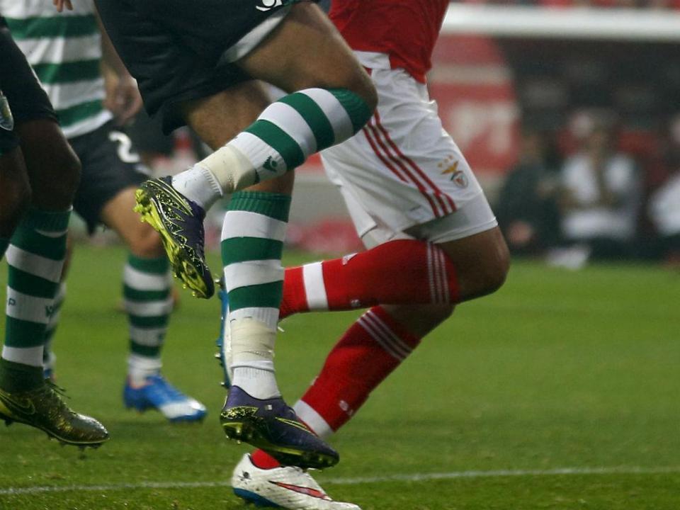 Iniciados: Benfica vence Sporting no Seixal