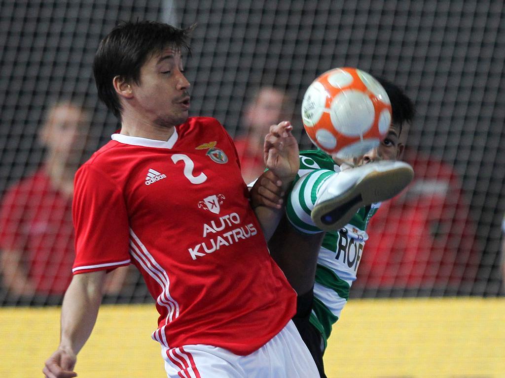Futsal: Benfica renova com Chaguinha