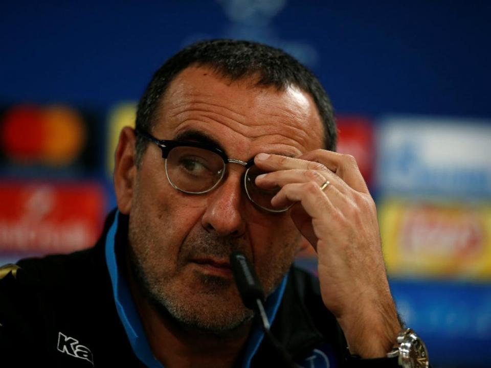 Presidente do Nápoles deixa mensagem de despedida a Sarri