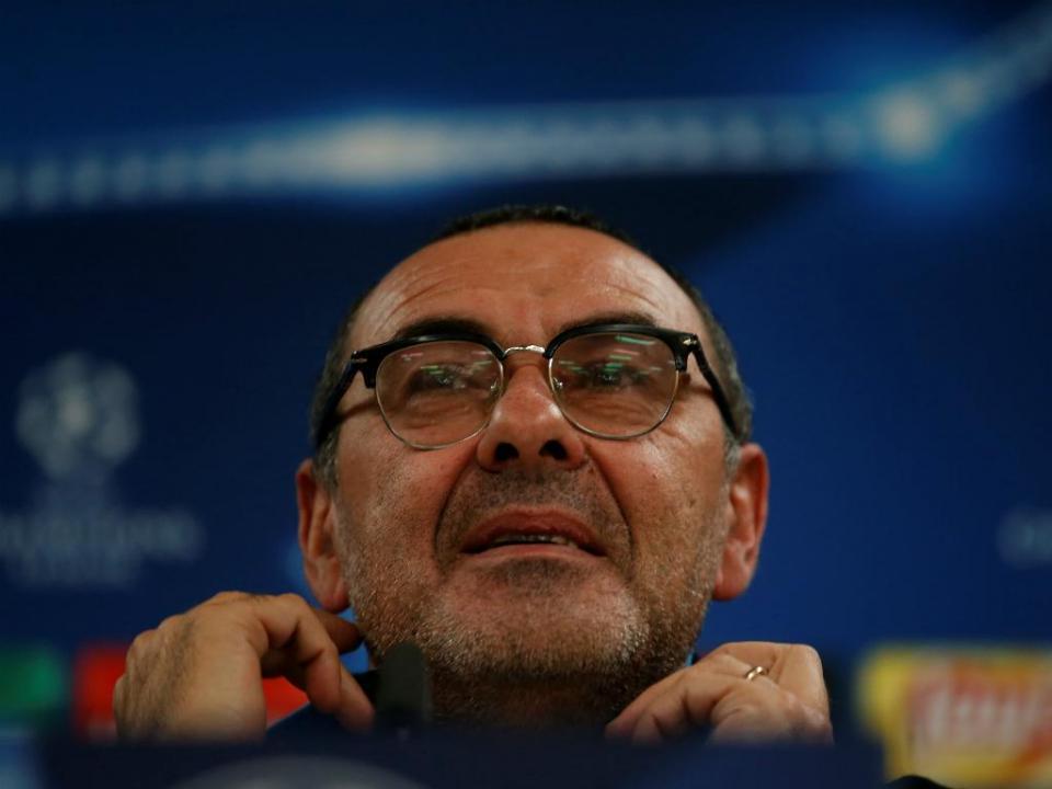 Maurizio Sarri: «A pressão está toda do lado do Real Madrid»