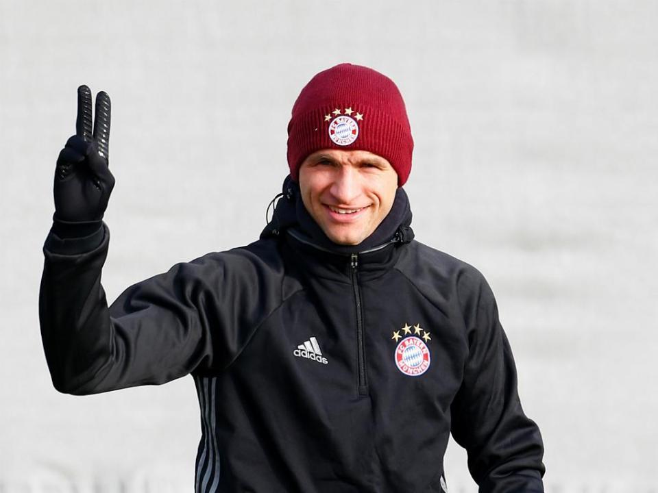 Thomas Müller: «Estou em fogo por voltar a jogar»