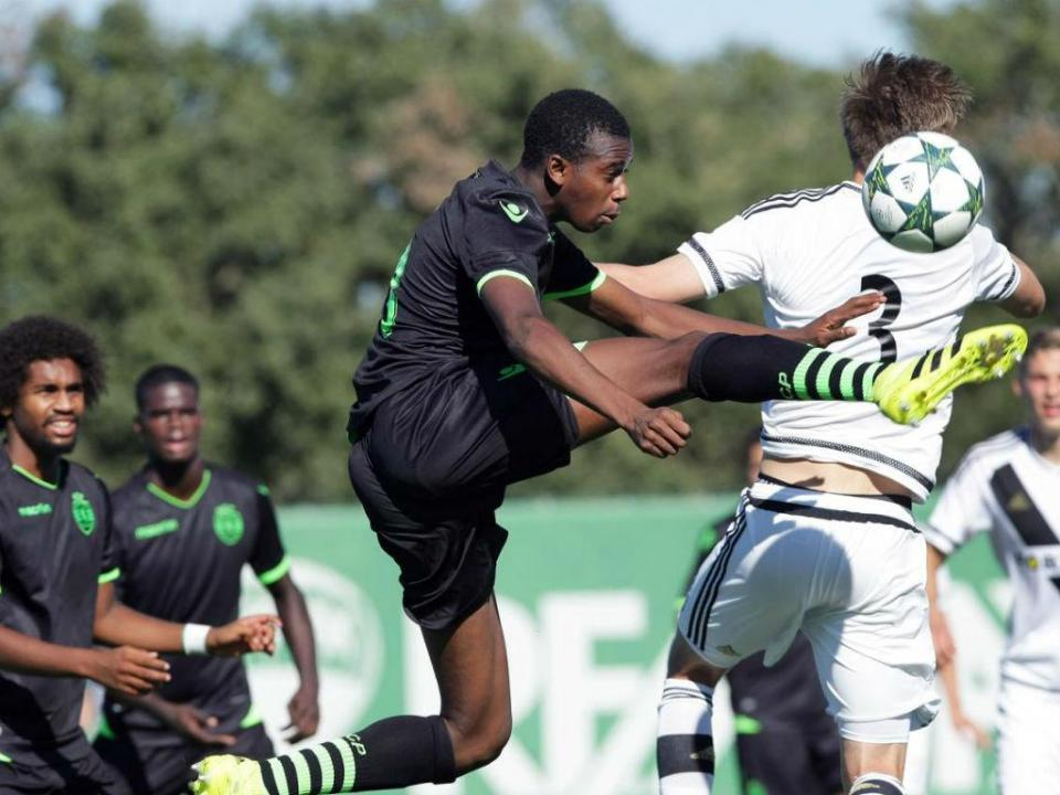 Youth League: Sporting defronta Salzburgo no «play-off»