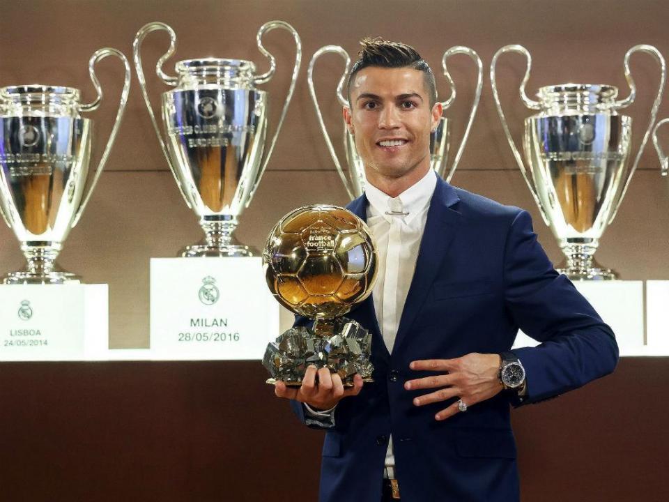 Bola de Ouro: Ronaldo foi o melhor desta lista de craques