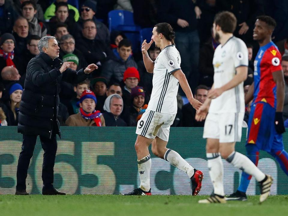 Mourinho explica situação de Ibrahimovic, «um verdadeiro campeão»