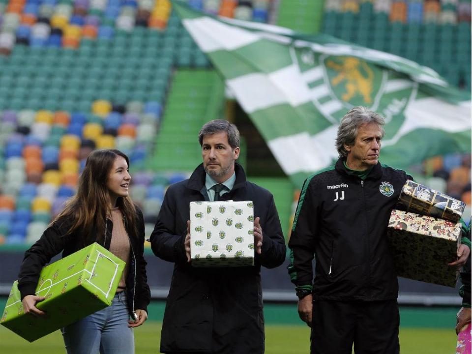 Sporting: treino solidário a 26 de dezembro