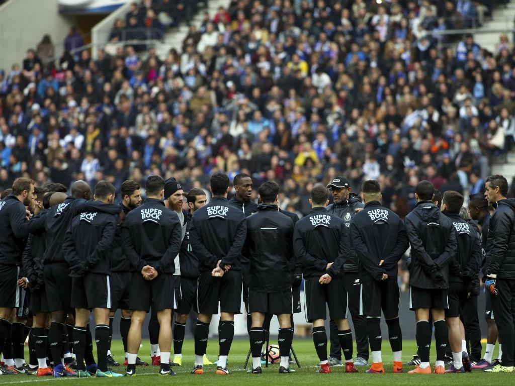 FC Porto anuncia treino aberto no Dragão para esta segunda-feira