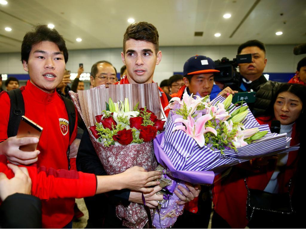 Oscar: «Liga chinesa pode chegar ao nível da Premier League»