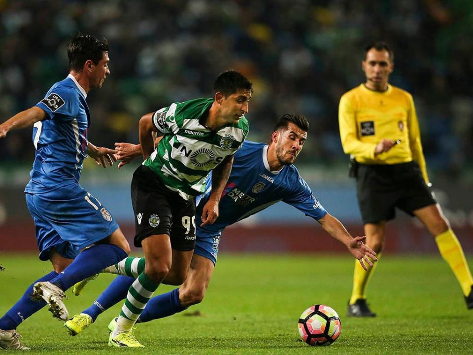 Sporting Feirense: Sporting-Feirense, 2-1 (resultado Final