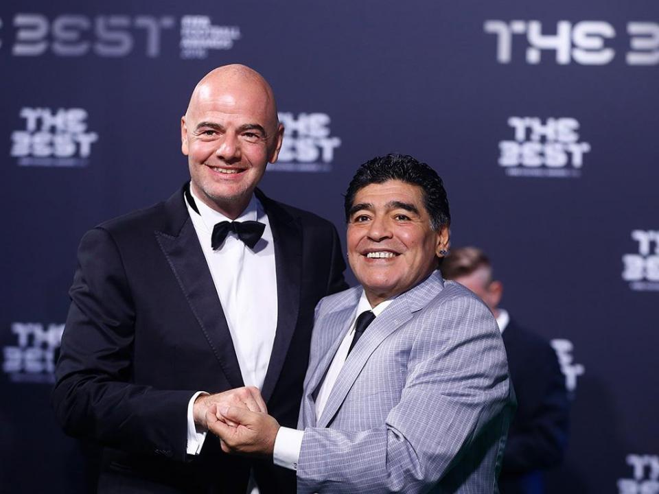 Maradona:«VAR? Hoje já não se pode roubar em frente a 80 mil pessoas»