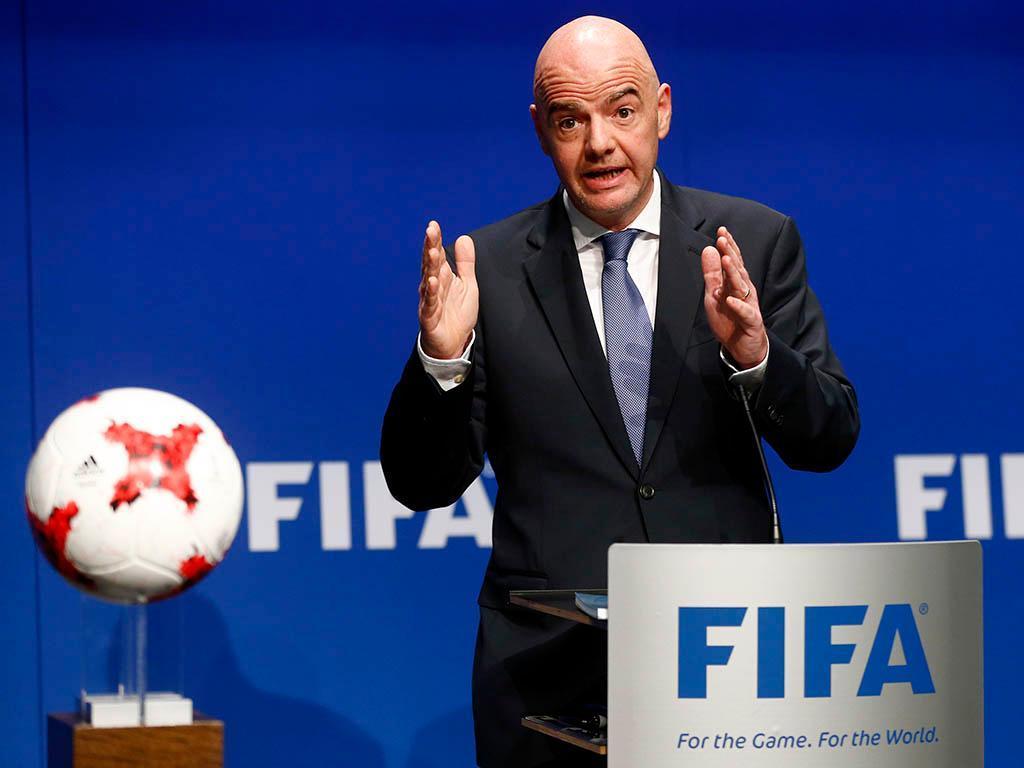 Infantino e o Mundial 2018: «Será o melhor da história»