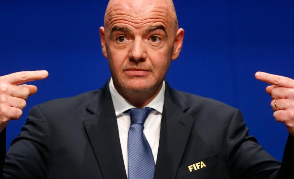 Infantino anuncia recandidatura à presidência da FIFA