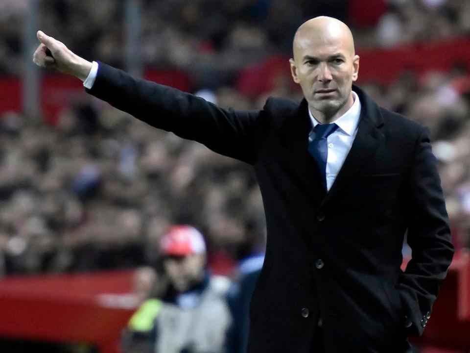 Zidane: «Já foram três ou quatro jogos como este»