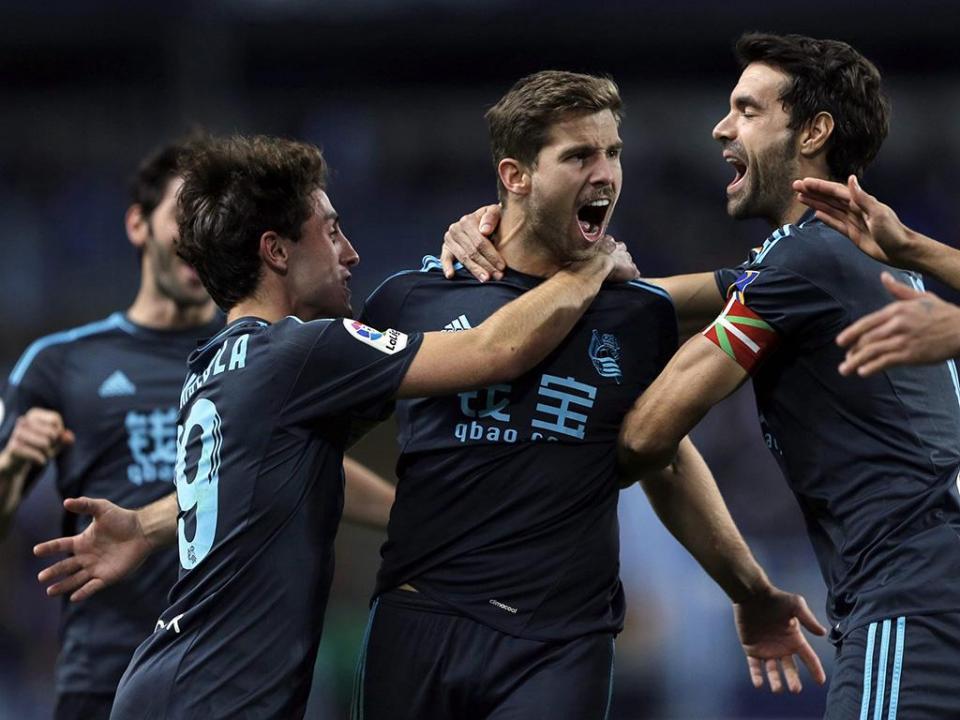 Real Sociedad vence em Sevilha e entra em «Zona Champions»