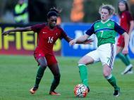 Futebol Feminino: Portugal-Irlanda do Norte (Lusa)