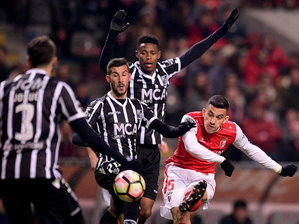 Sp. Braga-V. Guimarães (antevisão): rivais depois da jornada europeia