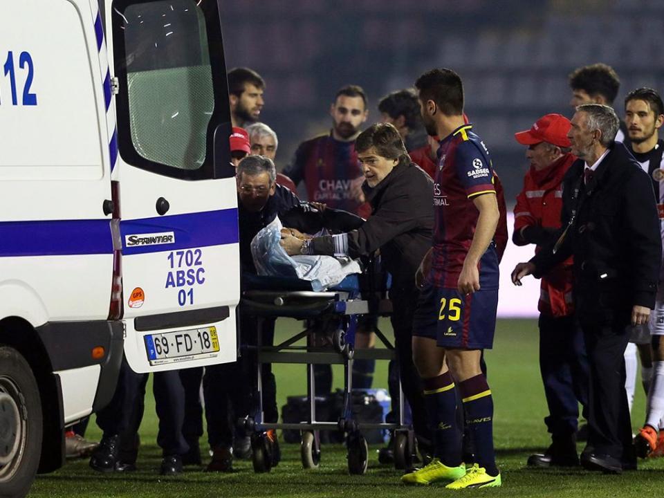 Nacional: Hamzaoui já teve alta do hospital