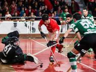 Hóquei em patins: Benfica-Sporting (Lusa)
