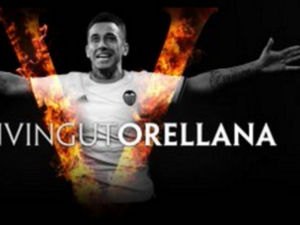 Valência comunica acordo de empréstimo com o Eibar por Orellana