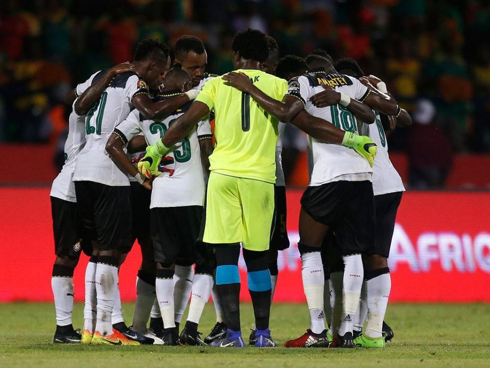 Lumor titular no empate do Gana frente à Islândia