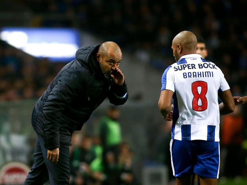 Quando contarem a história da Liga, falem de Brahimi no Clássico