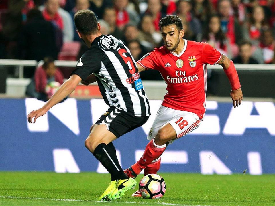 Nacional-Benfica: antevisão e onzes prováveis