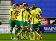Wigan-Norwich (Reuters)