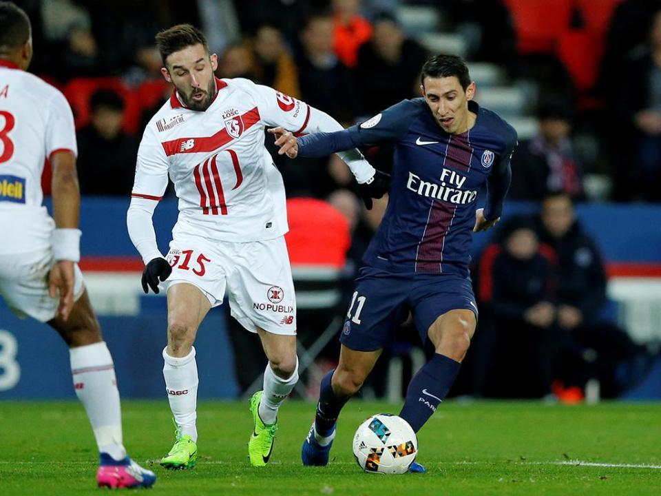 VÍDEO: Edgar Ié titular, Lille perde com o PSG