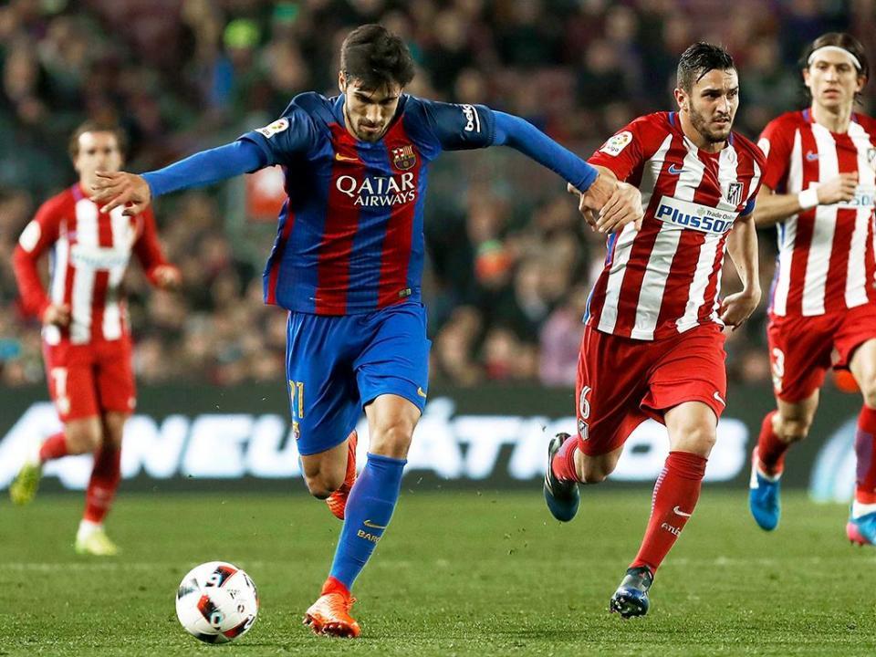 Barcelona sem André Gomes para a receção ao Celta