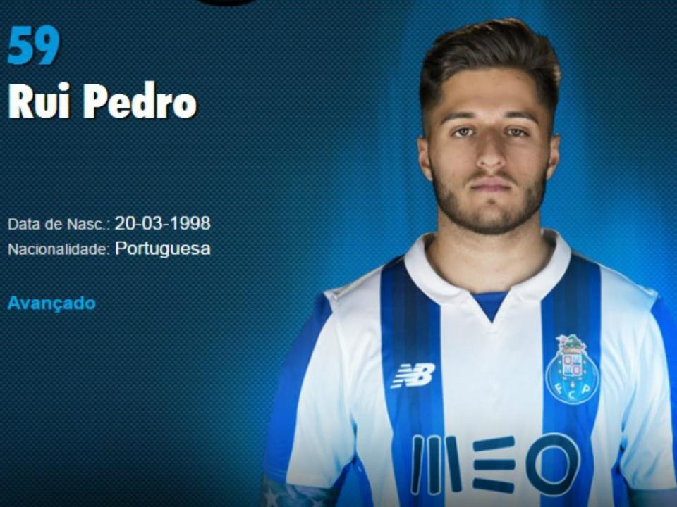 Pedro Pereira (Benfica) e Rui Pedro (FC Porto) na Seleção Sub-19