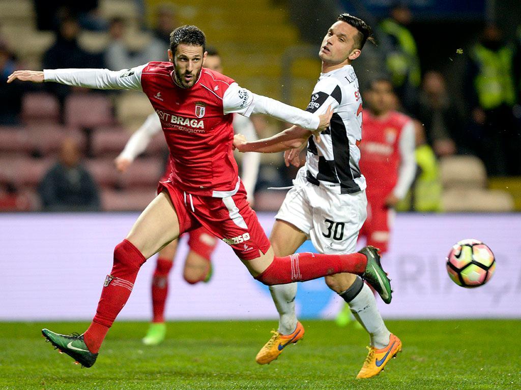 SC Braga-Ludogorets, 0-2 — Resultado final