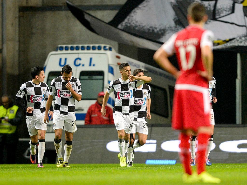 Paulinho de regresso no SC Braga