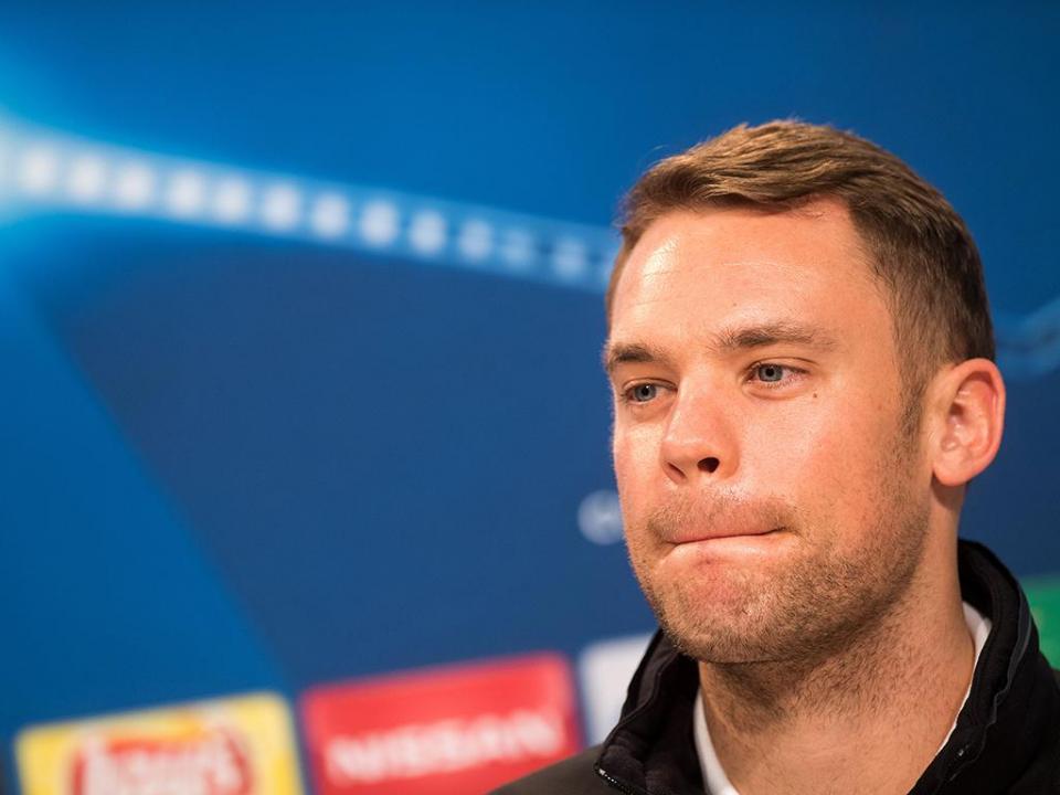 Neuer covocado pelo Bayern para a final da Taça da Alemanha
