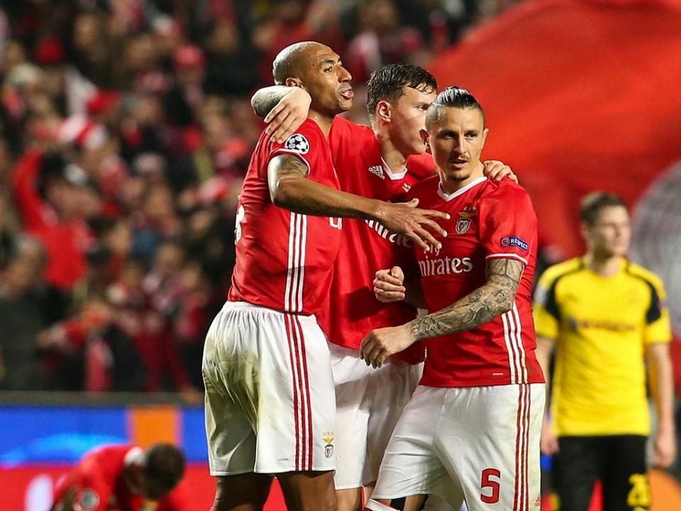 Benfica é o 5.º clube que mais marcou nas provas europeias