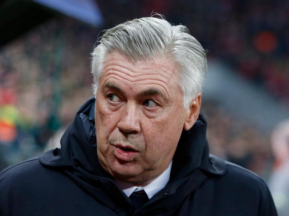 Ancelotti e a seleção italiana: «Quero continuar a treinar clubes»