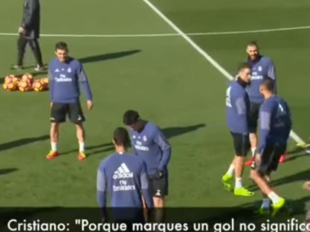 Ronaldo para Casemiro: «Lá porque marcaste um golo...»