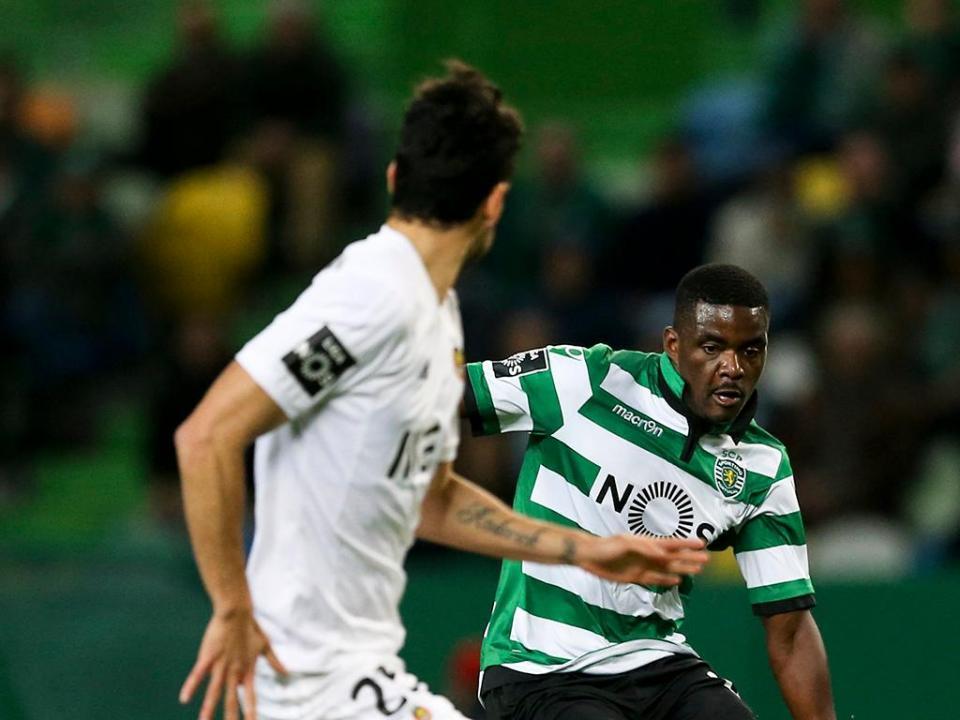Sporting Feirense: Feirense-Sporting (equipas): William E Battaglia De Início