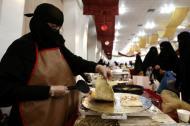Mulheres em Buraydah, Arábia Saudita